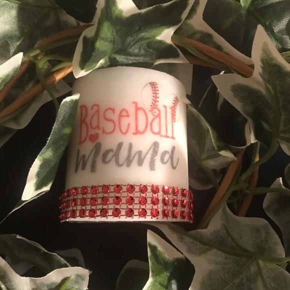 Small fresh linen scented Baseball Mama keepsake